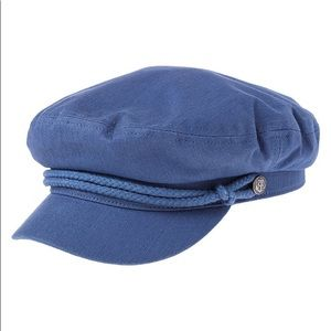 Blue Brixton Fiddler Hat